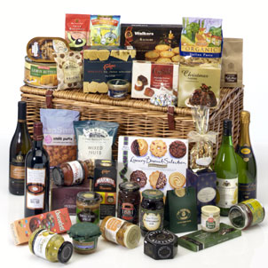 send cheap christmas gift baskets ireland delivery irish republic christmas food drinks online